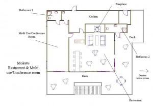 Café floor plan