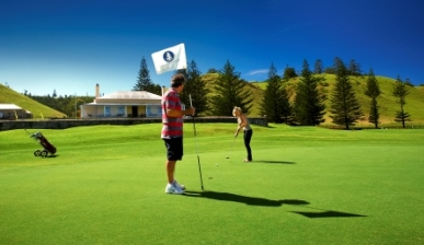 Golf at Norfolk Island Golf Club