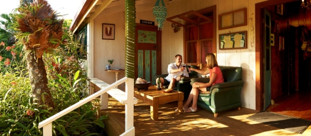Relaxing dining on your short holiday on Norfolk Island